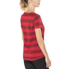 Bergans Bastøy - T-shirt manches courtes Femme - rouge